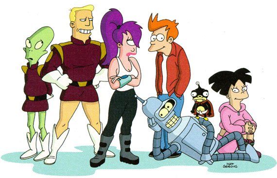 The return of Futurama…