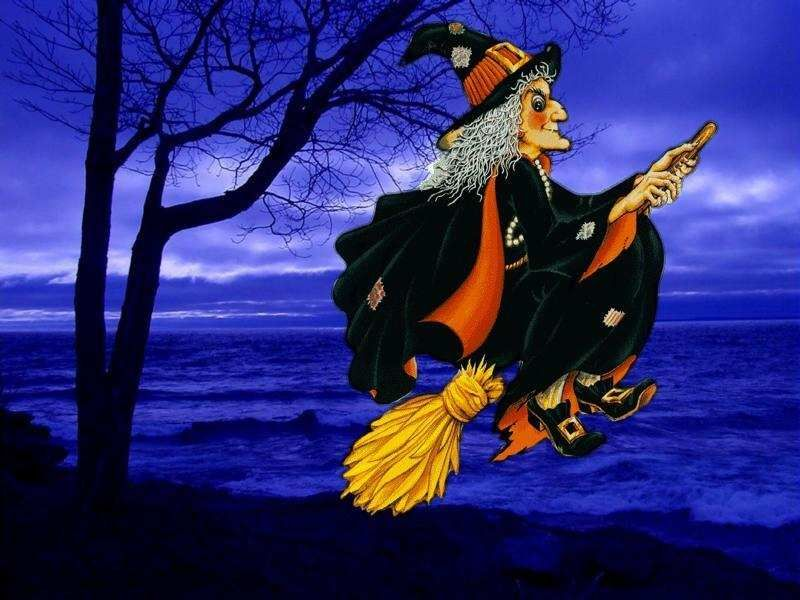 animated halloween wallpaper witches - photo #29