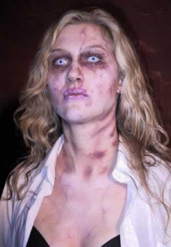 Можно.  Вот секрет.  Представьте, через два дня Хеллоуин, Вас пригласили на вечеринку, Вы сделали костюм вампира...
