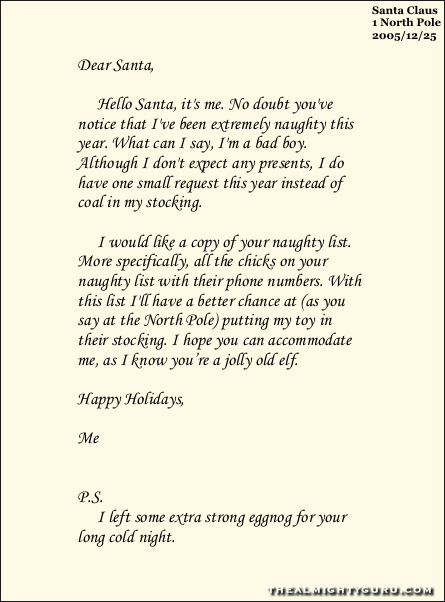 Old news letter to santa spiritdancerdesigns Image collections