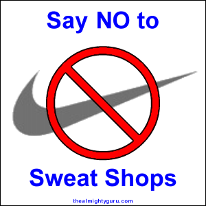 how to say sweatshops in french