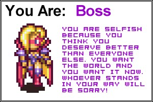 Which Secret of Mana Character are you?