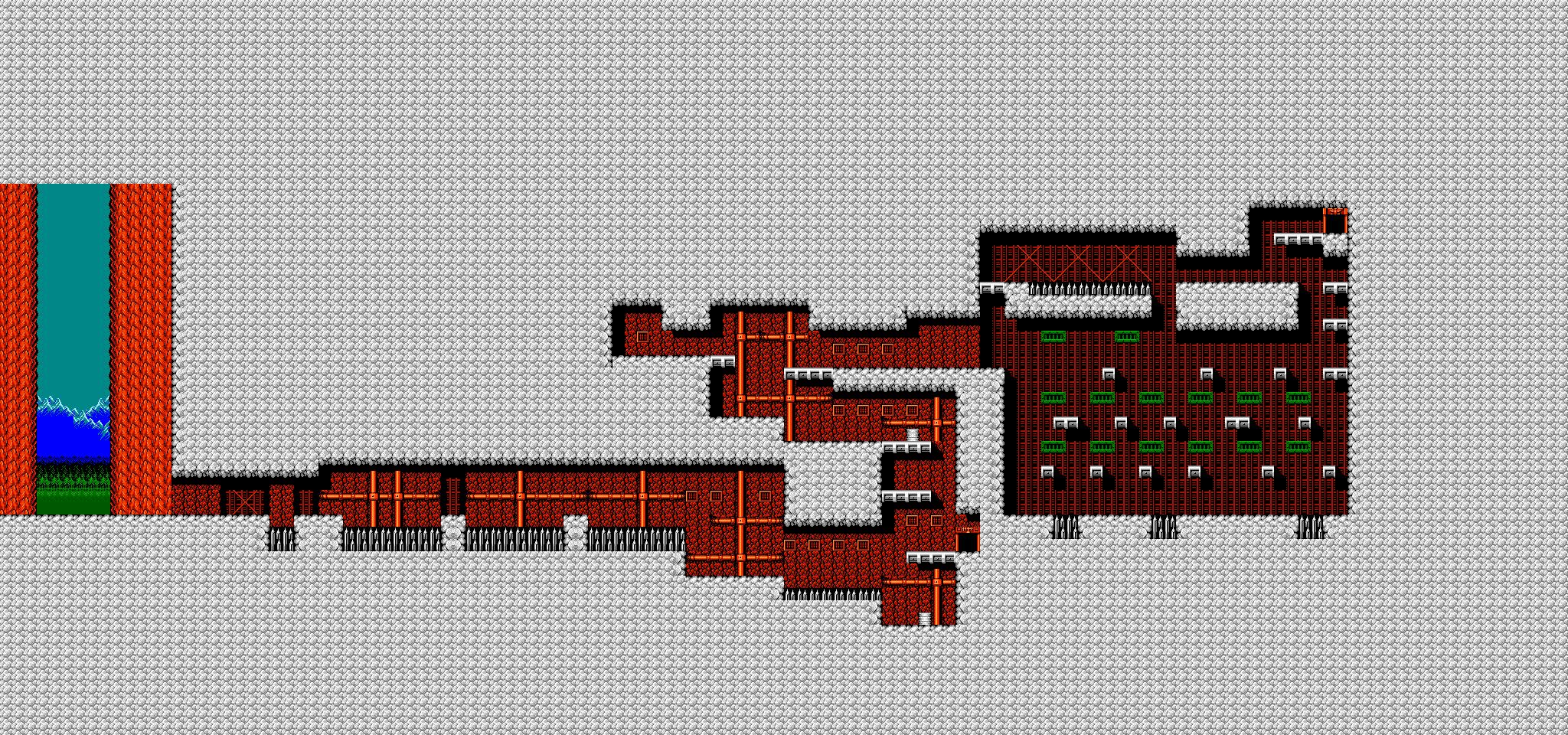 Bionic Comando NES-Map-Area4