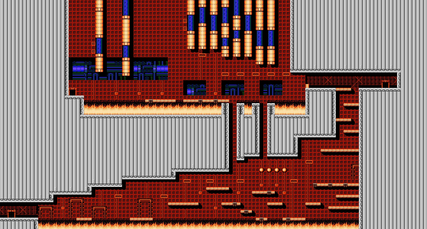 Bionic Comando NES-Map-Area11
