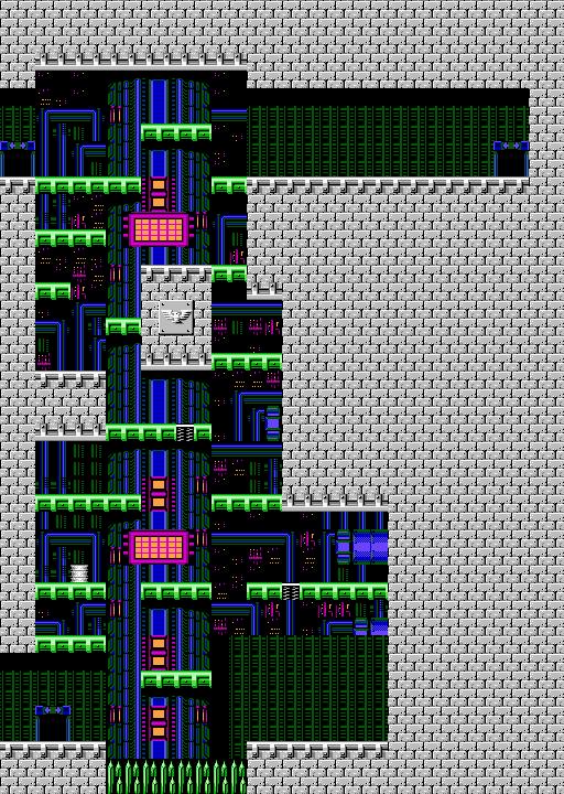 Bionic Comando NES-Map-Area8-1