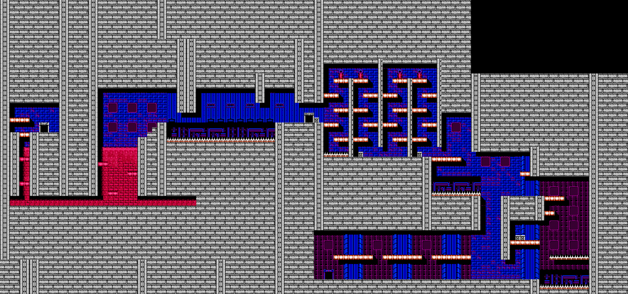 Bionic Comando NES-Map-Area10