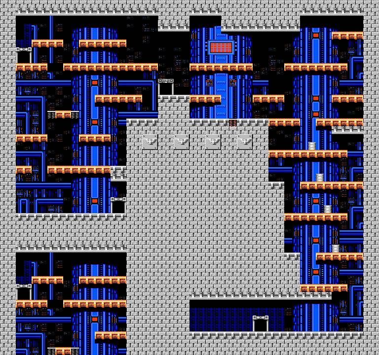 Bionic Comando NES-Map-Area8-4
