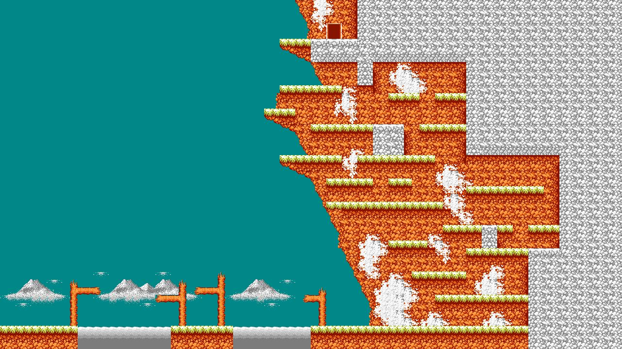 Bionic Comando NES-Map-Area3-1