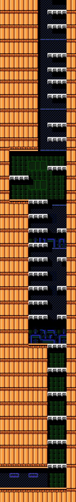 Bionic Comando NES-Map-Area12-8