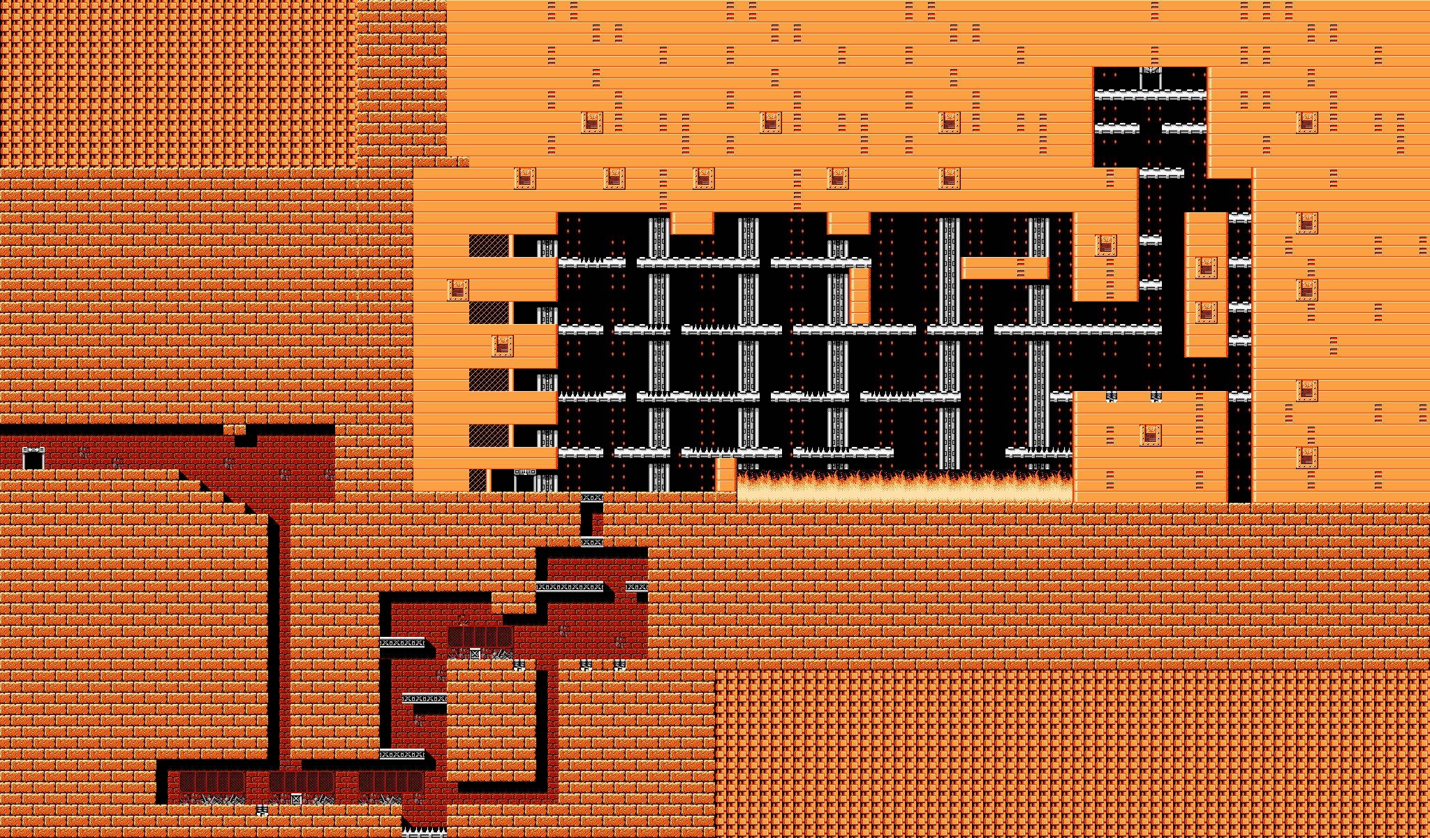 Bionic Comando NES-Map-Area9