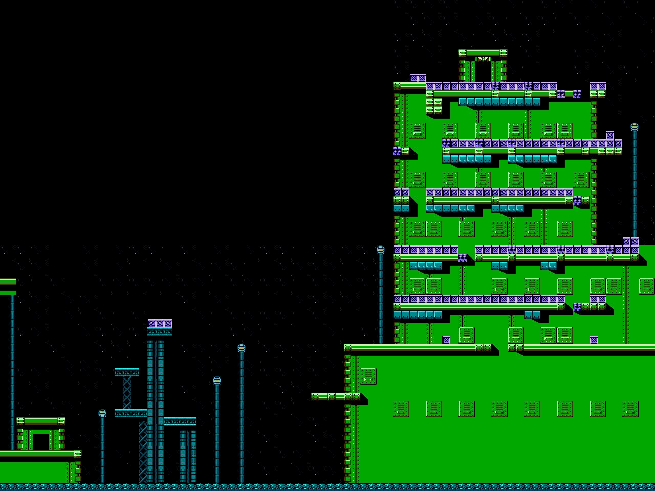 Bionic Comando NES-Map-Area6-2