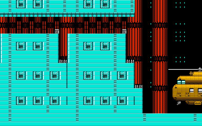 Bionic Comando NES-Map-Area12-7