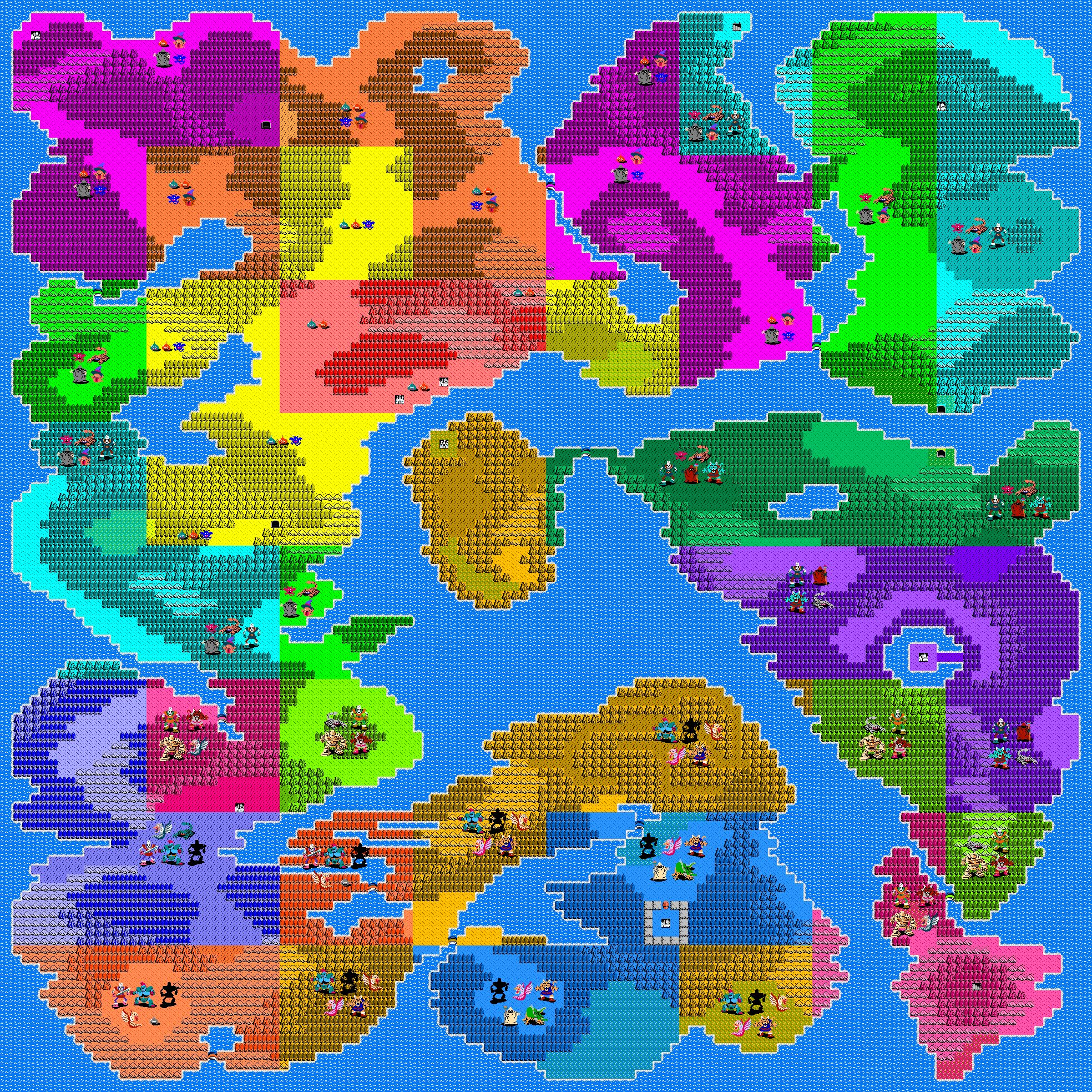 Warrior here is the overworld map gumiabroncs Gallery