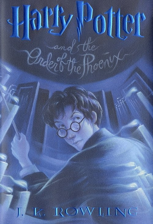 Harry Potter Book Cover Order Of The Phoenix : Harry potter books