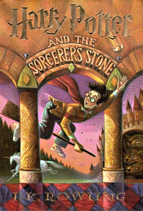 Harry Potter Philosopher S Stone Book Cover ~ Harry potter books