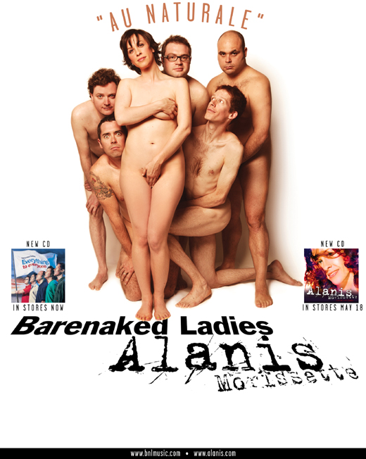 Bare naked ladies million