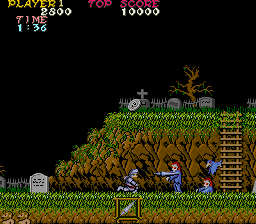 File:Ghosts 'N Goblins - ARC - Screenshot - Stage 1.png