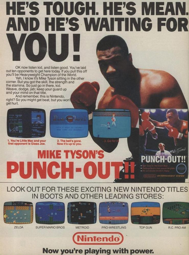 File Mike Tyson S Punch Out Nes Ad Jpg Thealmightyguru