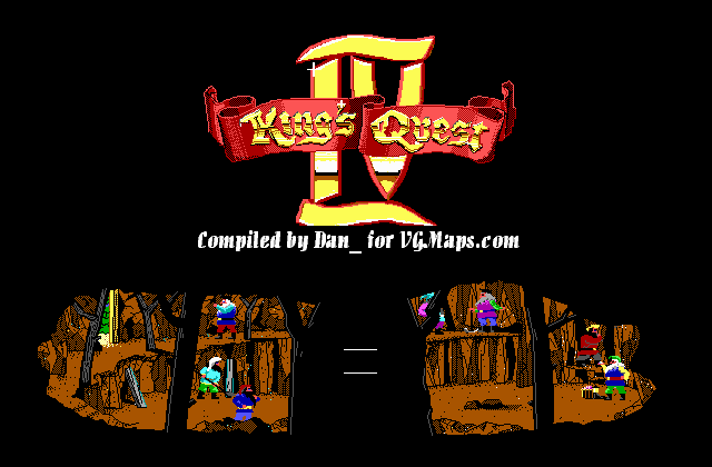 File:King's Quest IV - DOS - Map - Mine.png