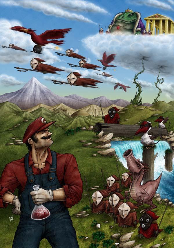 File Super Mario Bros 2 Nes Fan Art By Dmvcomics Jpg Thealmightyguru