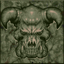 File:Doom - DOS - Texture - Green Marble Demon Face.png
