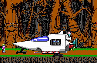 File:Commander Keen 4 - DOS - Map - Bean-With-Bacon Megarocket.png