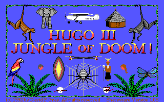 File:Hugo III - Jungle of Doom! - DOS - Screenshot - Title.png