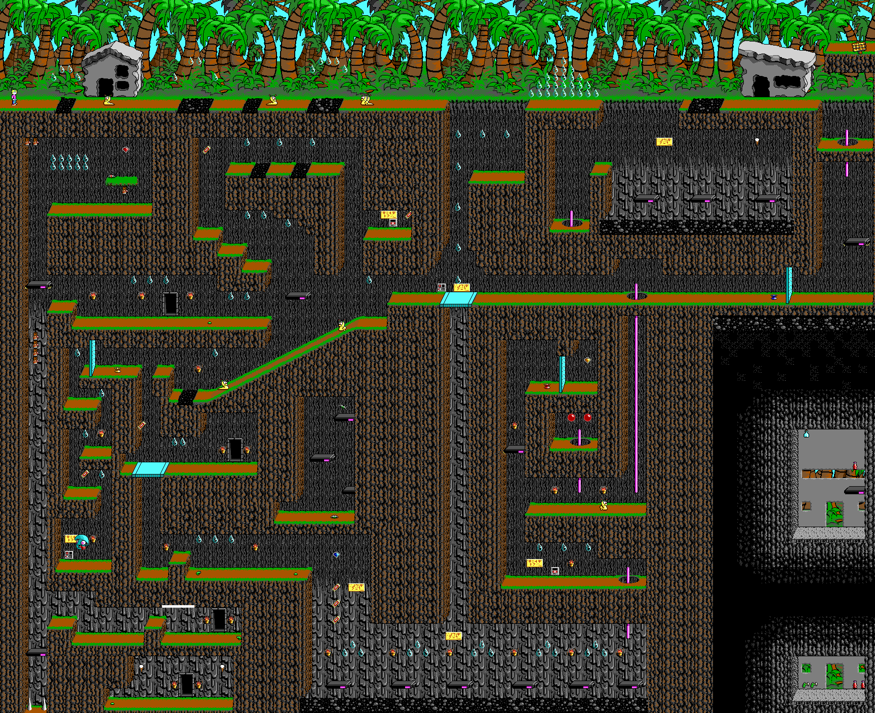 File:Commander Keen 4 - DOS - Map - Isle of Tar.png ...