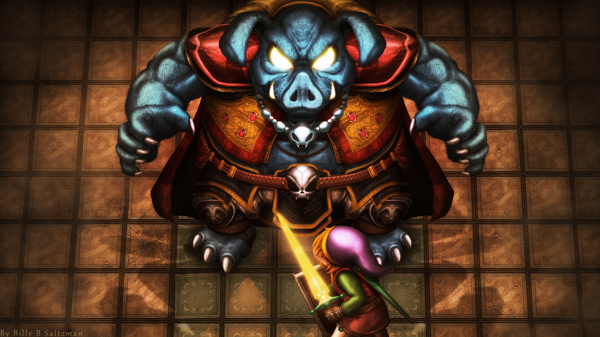 File:Legend of Zelda, The - Link to the Past, A - SNES - Fan