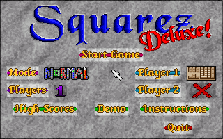 File:Squarez Deluxe! - DOS - Screenshot - Title.png