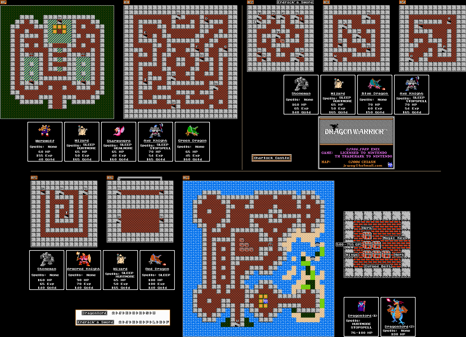 File:Dragon Warrior - NES - Map - Charlock Castle.png ... on dragon quest item map, teenage mutant ninja turtles map, call of duty map, indiana jones map, dragon quest ix map, dragon quest 1 map, dragon cave map, legacy of the wizard map, secret of mana map, skyrim dragon map, the guardian legend map, black dragon lair map, dragon quest 8 map, milon's secret castle map, dragon quest vi map, dragon quest 2 map, dragon quest 3 map, back to the future map, river city ransom map, dragon quest 4,