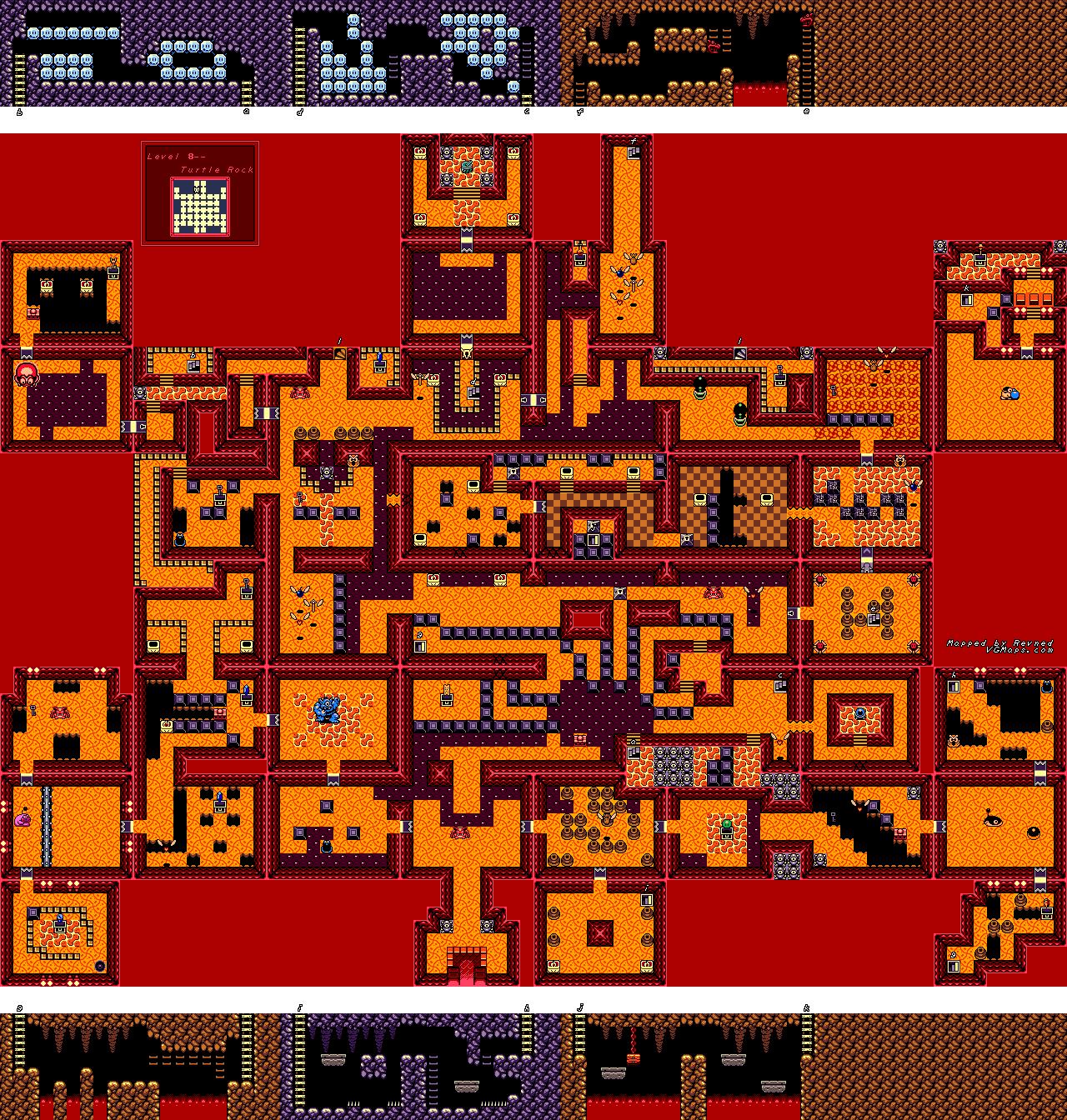 File Legend Of Zelda The Link S Awakening Dx Gbc Map