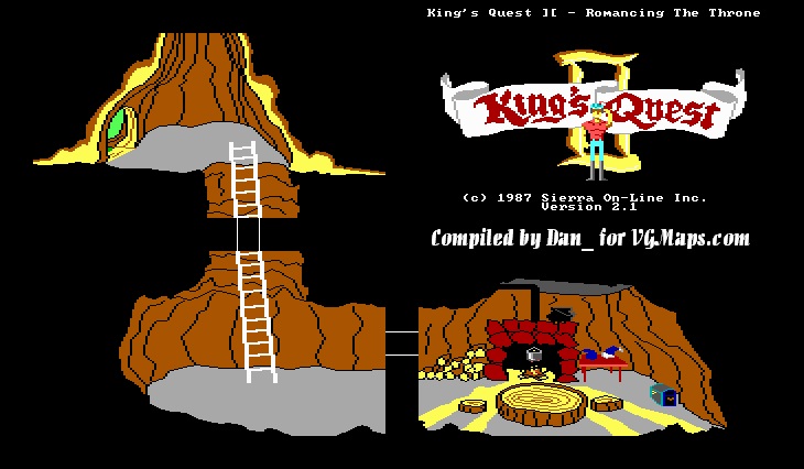File:King's Quest II - DOS - Map - Dwarf's House.png