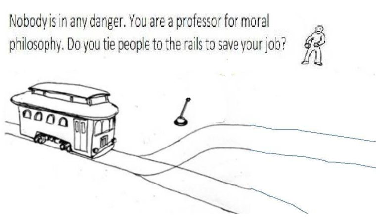 File:Trolley Problem - Keep Your Job.jpg
