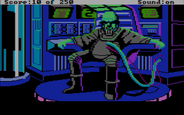 File:Space Quest II - Vohaul's Revenge - Screenshot - Vohaul - CGA Composite.png