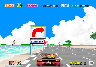 File:OutRun - ARC - Screenshot - Stage 1.png