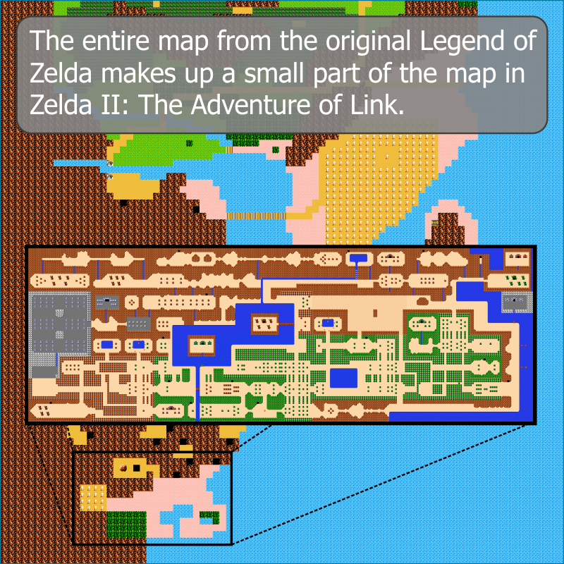 File:Legend of Zelda 2, The - Adventure of Link, The - NES - Map ...