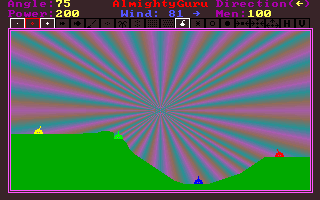 File:Tank Wars - DOS - Screenshot - Gradient Background.png