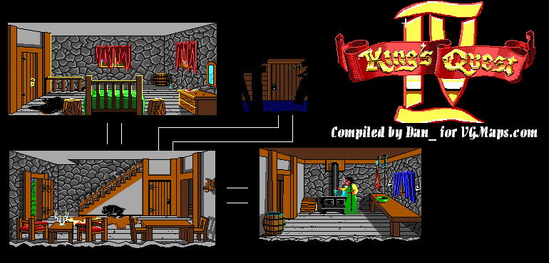 File:King's Quest IV - DOS - Map - Ogre's House.png