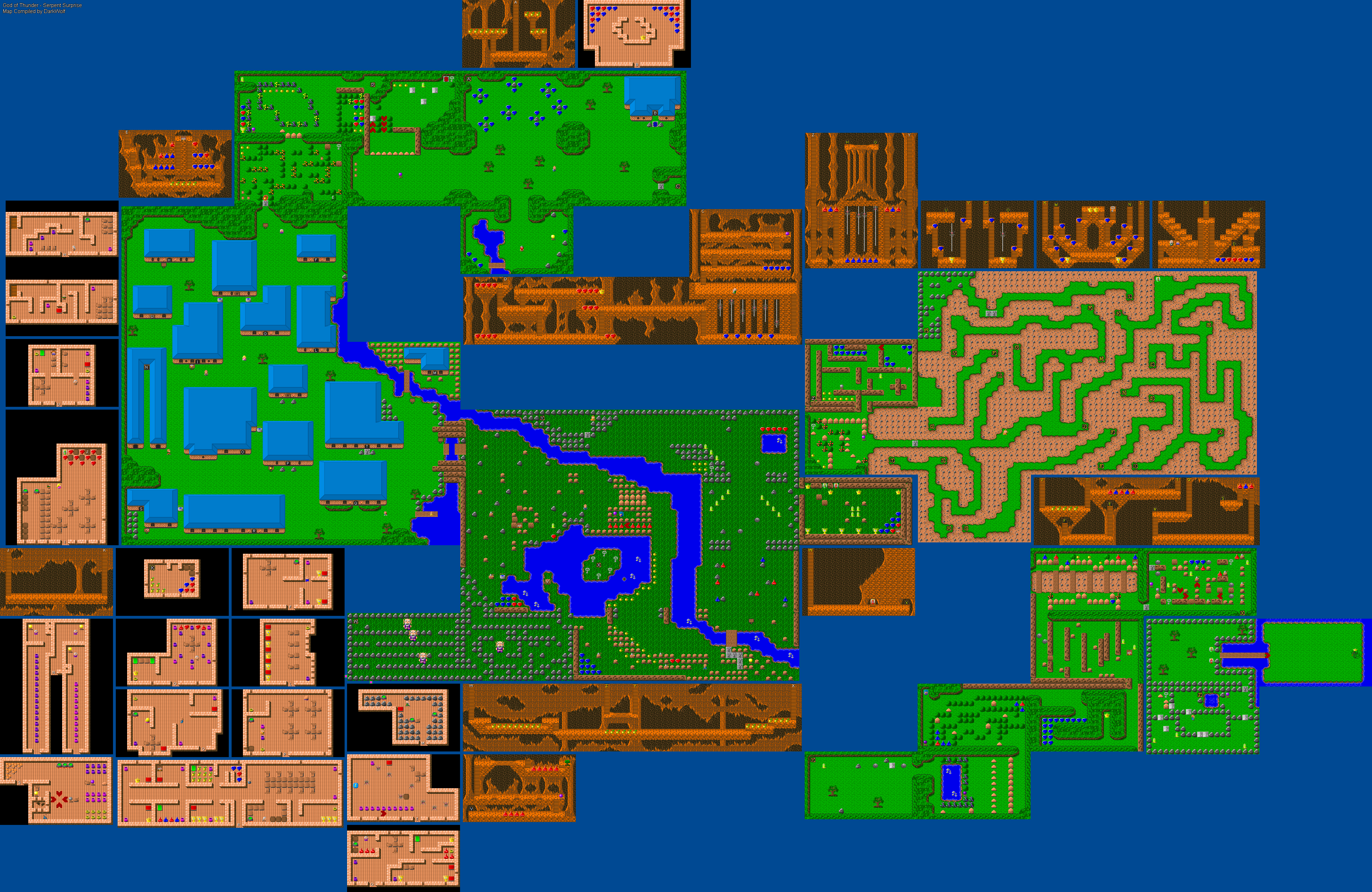File:God of Thunder - DOS - Map - Episode 1.png - TheAlmightyGuru on