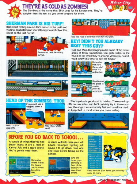 File:River City Ransom - NES - Nintendo Power, Page 45.jpg