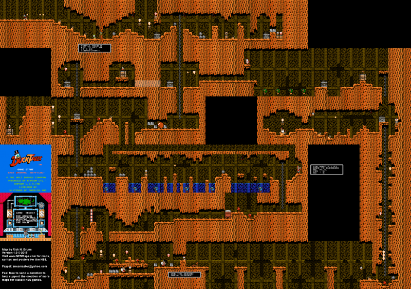 File:DuckTales - NES - Map - African Mines.png