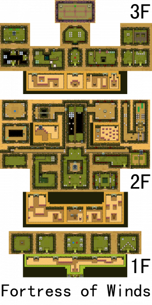 File:Legend of Zelda, The - Minish Cap, The - GBA - Map - Fortress of Winds.png
