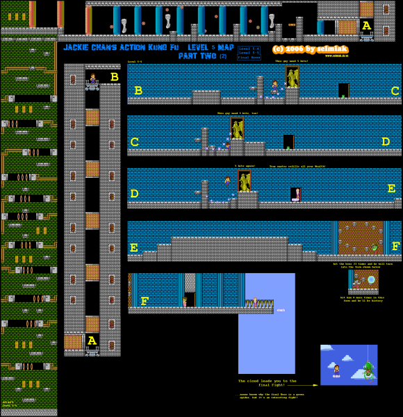 File:Jackie Chan's Action Kung Fu - NES - Map - 5-2.png