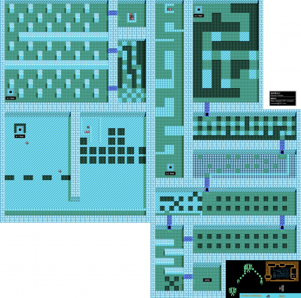 File:Blaster Master - NES - Map - Area 6 - Interiors.png