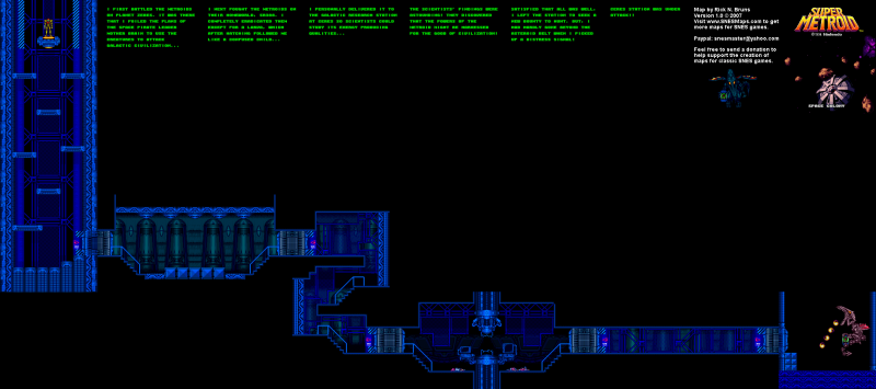 File:Super Metroid - SNES - Map - Ceres Research Station.png