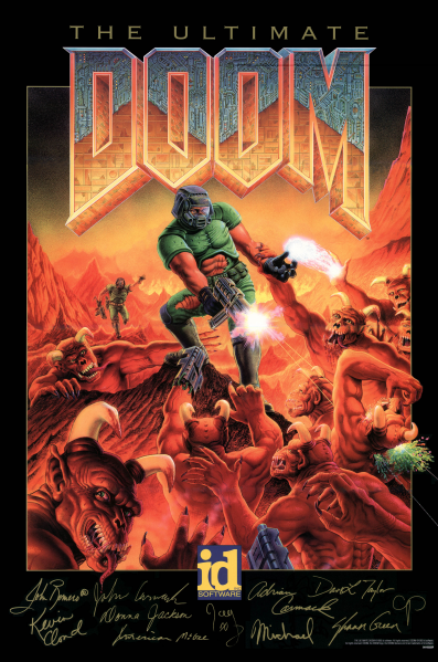 File:Doom - DOS - The Ultimate Doom Poster.png