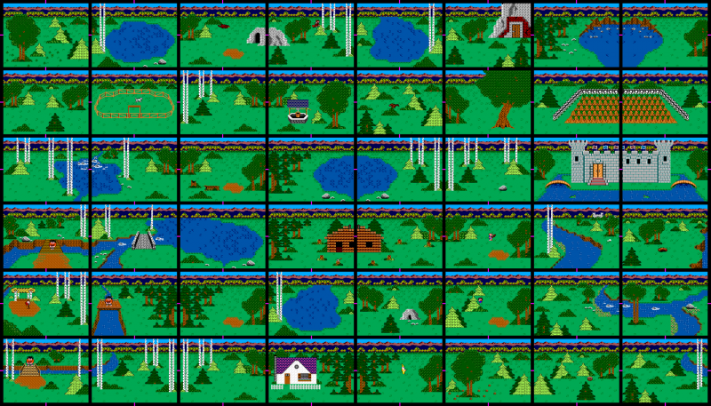 File:King's Quest - SMS - Map.png