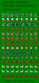 Ultima - Exodus - NES - Sprite Sheet - Player Characters.png