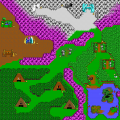 Commander Keen 4 - DOS - Map - Shadowlands.png